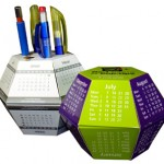 Action-packed Pop up Balls - Desk-top Calendars for Visual Marketing