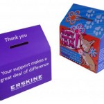 Increase Awareness and Donations every time Pop up House Money Box