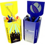 Push up Pen Pals -  Interactive Printed Promotional Products