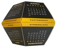Pop up Ball Desktop Business Calendar