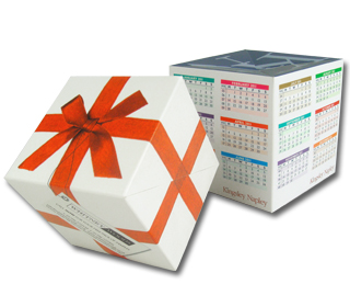 Make a Date with a Pop up Cube Calendar