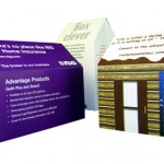 Pop up House - Pitched Roof Format for Office Relocation Announcements