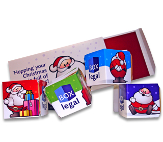 """Christmas cracker"" marketing - Jumpinjax"