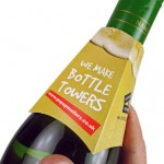 Creative Bottle Collars for Successful Drinks and Bottle Marketing and Promotion