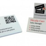 Extra Dimensional Desk Display Business Card - Tent Topper
