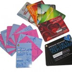 Swatch Cards - Interactive Marketing Products that Fit into a Pocket