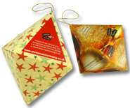 Pop up Diamond - Extra Sparkle for B2B Christmas Greetings