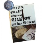 Fundraising Novelty Collection Boxes - Grab Attention and Money!