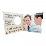 Interactive and Effective Mini Disc Card - Direct Mail that Works
