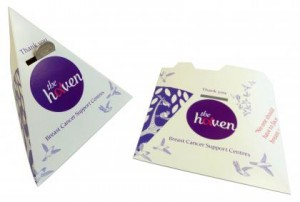 Give fund raising campaigns extra shape with cardboard money boxes