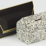 House shaped money box for fundraising promotions