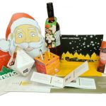 Creative Seasons Greetings and Corporate Christmas card Ideas