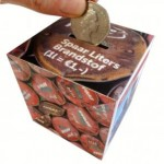 Cardboard Money Boxes  and Novelty Collection Boxes Reap Rewards